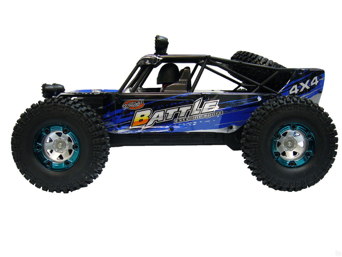 Игрушка ECX Crawler Temper Yellow-White ECX00012T2