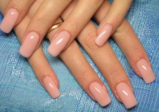 Образцы покрытия ногтей