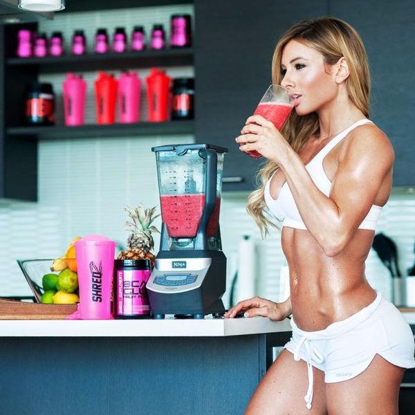 Спортивная диета для девушки